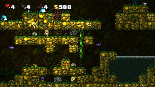 Spelunky : Un mode de jeu inédit sur PC