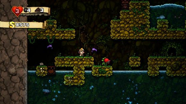 Finir Spelunky avec l'aubergine : Achievement unlocked !