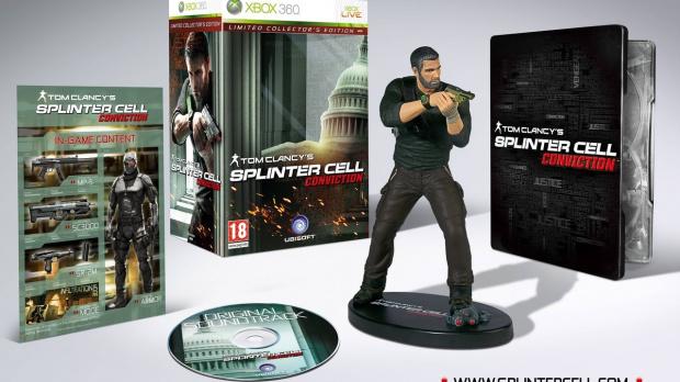 La version collector de Splinter Cell Conviction