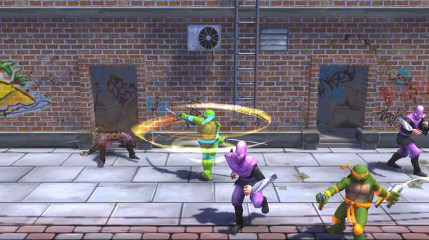 Les Tortues Ninja disponible sur Xbox Live Arcade
