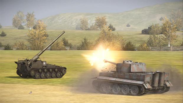 GC 2013 : La version 360 de World of Tanks s'offre quelques images