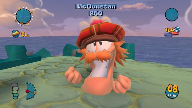 Un DLC pour Worms Ultimate Mayhem