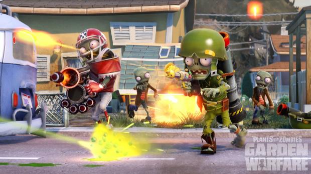 GC 2013 : Plantes contre Zombies : Garden Warfare en une vidéo et des images