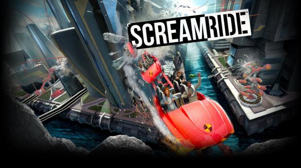 ScreamRide : Construction et destruction de Grand 8