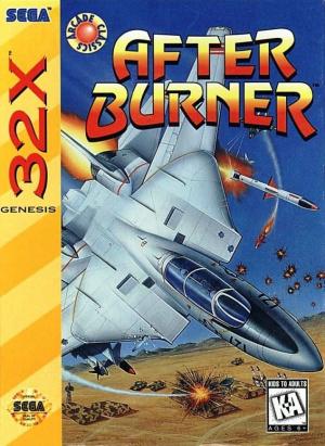 After Burner sur 32X
