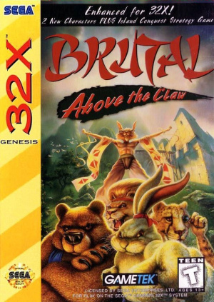 Brutal Unleashed : Above the Claw sur 32X