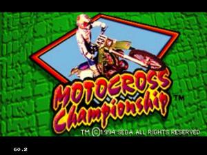 Motocross Championship sur 32X