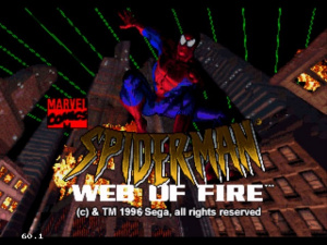 Spider-Man : Web of Fire sur 32X