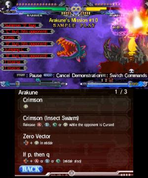 Images de Blazblue : Continuum Shift II sur 3DS