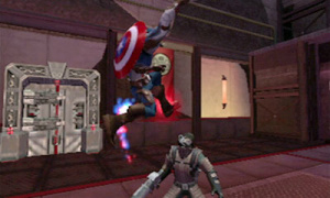 Images de Captain America sur 3DS