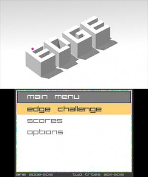 Edge sur 3DS la semaine prochaine