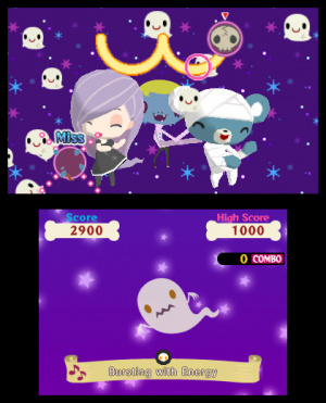 Gabrielle's Ghostly Groove sur 3DS