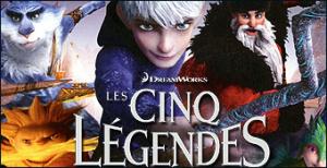 Jaquette de Les Cinq Légendes sur DS