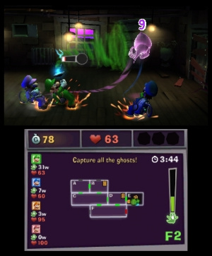 Images du multi de Luigi's Mansion 2