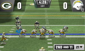 Images de la version 3DS de Madden NFL 11