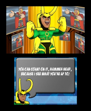 Marvel Super Hero Squad : Le Gant de l'Infini