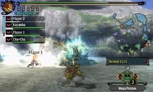 Monster Hunter 3 Ultimate s'illustre sur 3DS