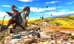 Monster Hunter 4 repoussé