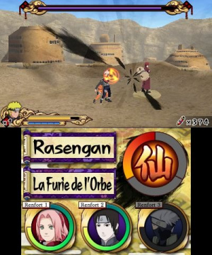 Naruto daté en vidéo sur 3DS