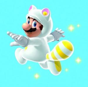 New Super Mario Bros 2: La tenue de tanuki blanche de retour