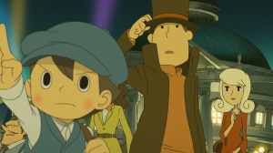 Professeur Layton ressort en version « Plus »