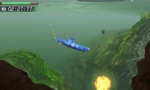 Steel Diver sort son périscope