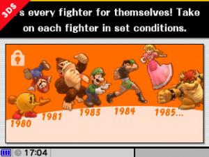 Super Smash Bros. Wii U et 3DS : Précisions sur le mode All-Star