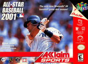 All-Star Baseball 2001 sur N64