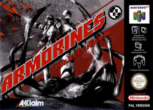 Armorines : Project Swarm sur N64