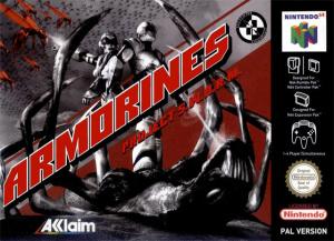 Armorines : Project Swarm sur N64