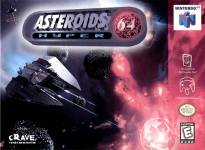 Asteroids Hyper 64 sur N64