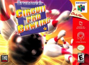 Brunswick Circuit Pro Bowling sur N64
