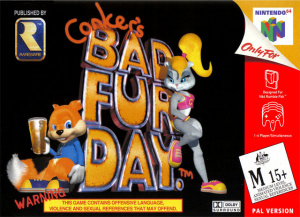 Conker's Bad Fur Day sur N64