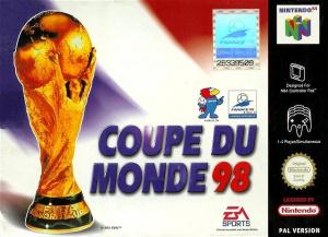 Coupe du monde 98 sur nintendo 64 - Coupe du monde foot 1998 ...