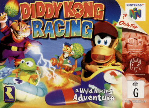 Diddy Kong Racing sur N64