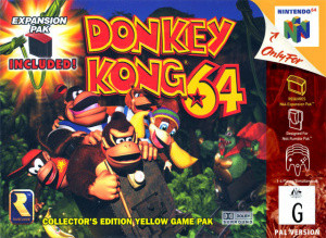 Donkey Kong 64 sur N64