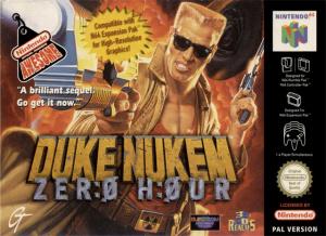 Duke Nukem : Zero Hour sur N64