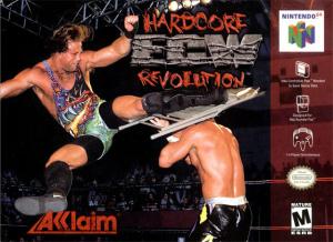 ECW Hardcore Revolution sur N64