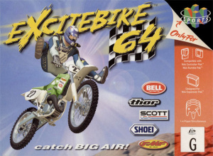Excitebike 64 sur N64