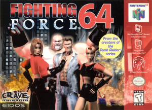 Fighting Force 64 sur N64