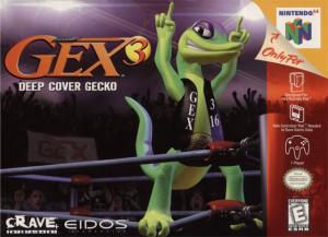 Gex 3 : Deep Cover Gecko sur N64