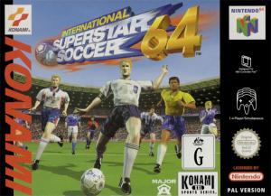International Superstar Soccer 64 sur N64