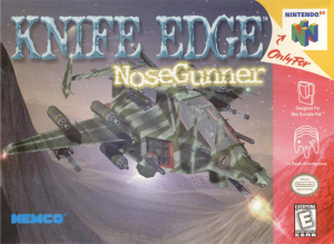 Knife Edge : Nose Gunner sur N64