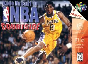 Kobe Bryant In NBA Courtside sur N64