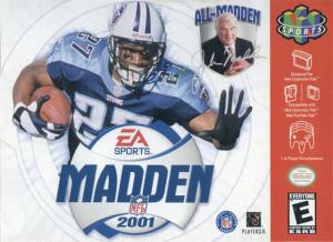 Madden NFL 2001 sur N64