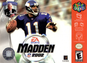 Madden NFL 2002 sur N64