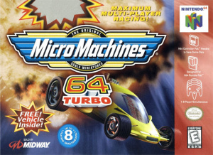 MicroMachines 64 Turbo sur N64