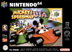 Mickey Speedway USA sur N64