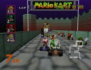 32. Mario Kart 64 / N64 : 9 870 000 unités