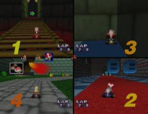 Mario Kart 64 - Un bond en avant